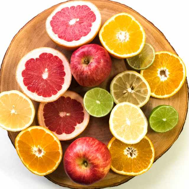 citrus fruits slice